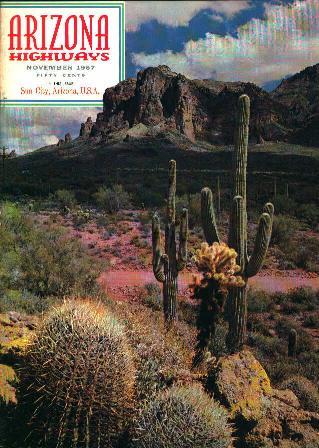 Arizona Highways 11/67 Sun City Arizona!