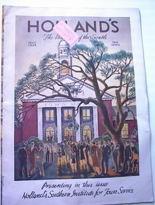 HOLLAND'S,7/1939,Holland's Southern Institute