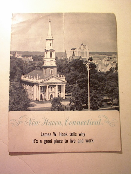 c 1950 New Haven Connecticut by James W. Hook