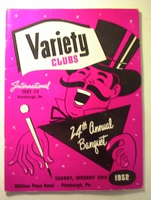 Variety Clubs 24th Annual Banquet Program