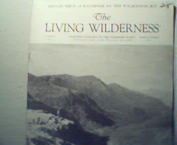 Living Wilderness-Sumr 64'Wilderness Act Sgn