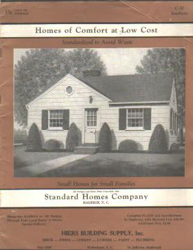 Homes of Comfort Standard Homes 1950 VG