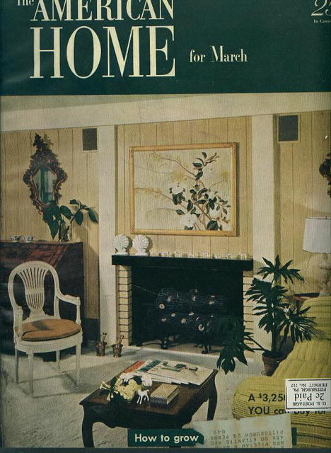 The American Home, Tuberous Begonias, 3/52