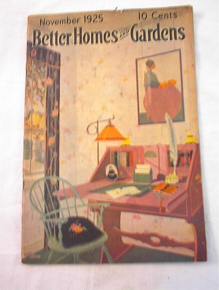 Better Homes & Garden Nov,1925 Davis Larson
