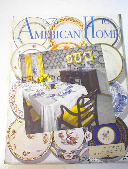 The American Home,Nov.1936,Early Pottery