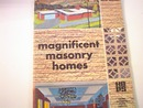 Magnificent Masonry Homes Mag,1960s,F-plans