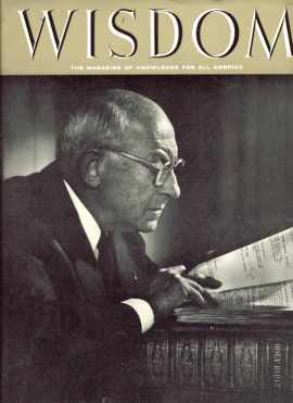Cecil B De Mille Wisdom Magazine Oct 1956