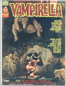 Vampirella #47/Dec.1975/Enrich cover
