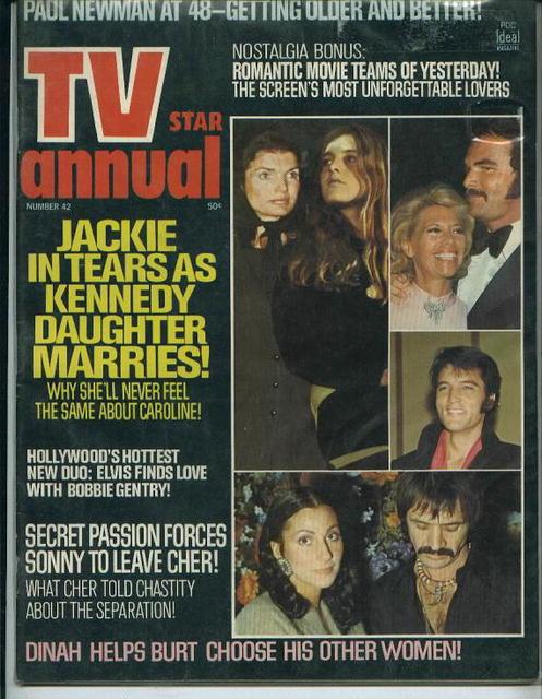 TV Star Annual, Elvis, Jackie, Newman, 1973