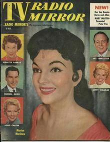 TV Radio Mirror, Marion Marlowe, 2/56