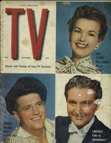 TV, Gale Storm, Liberace, Gordon McRae, 9/54