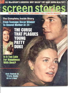 Screen Stories/Mar.1971/Curses Plague Patty D