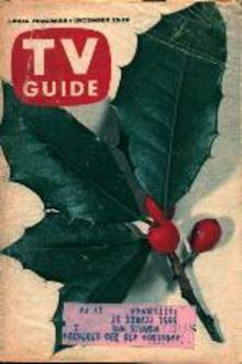 TV Guide 12/23/61 Lassie's White Christmas