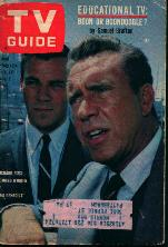 TV Guide 10/27/62 Richard Rust,Edmond O'Brien