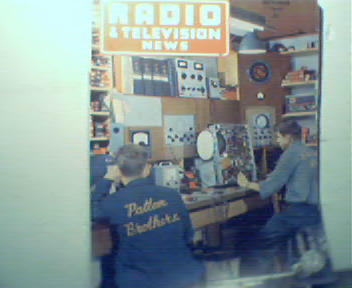 Radio & TV News-9/49 Burglar Alarm, More!