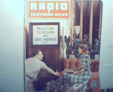 Radio and TV News-4/49 Projection TV's!More!