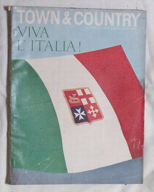 Town&Country 10/60 Viva L'Italia! Italy Issue