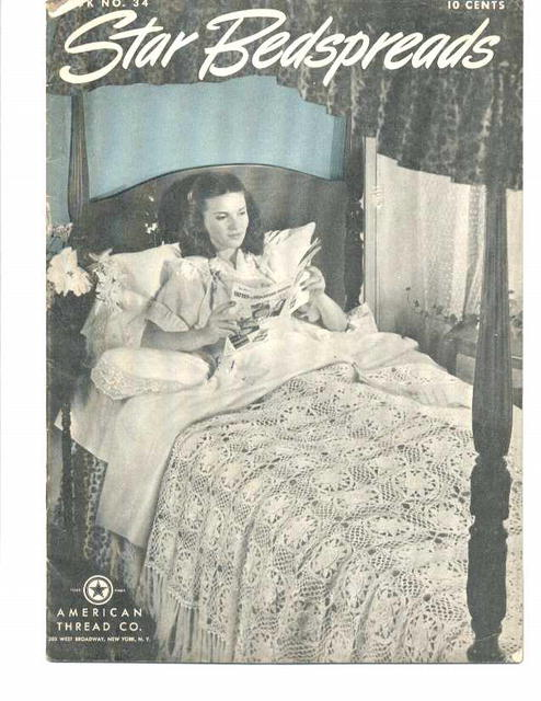 1944 Star Bedspreads/American Thread How to