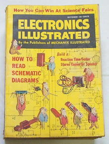Electronics Illust.10/60 Robot Cars & Highway