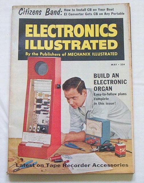 Electronics Illust. 5/61 Lie Detectives, CBs