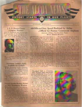 The Alcoa News 5/8/1944 WWII employee news