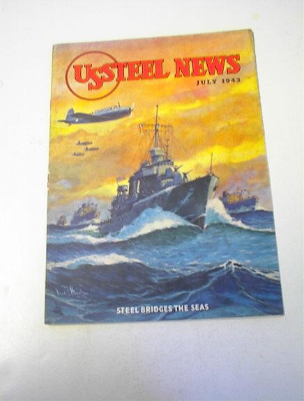 US Steel News,7/43,Steel Bridges The Sea