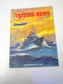 US Steel News,7/43,Steel Bridges The Sea