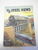 US Steel News,July-Sept.1939,Rairoad Number