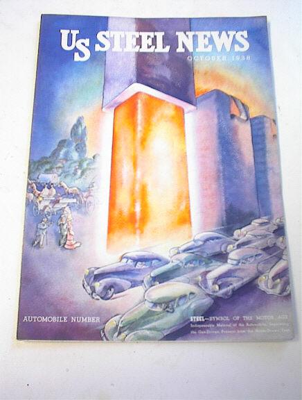 US STEEL NEWS,11/38,Automobile Number