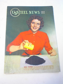 US STEEL NEWS,7/53,Iron