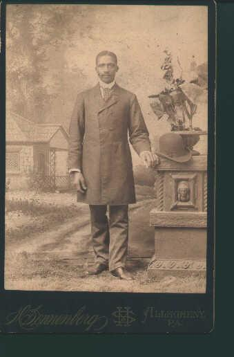 Photo of African American Man from 1890's