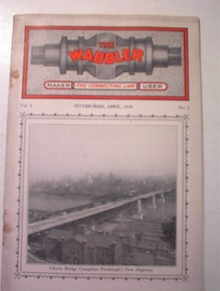 The Wabbler,4/1928,PGH Liberty Bridge cover