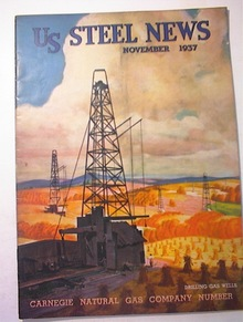 US Steel News,11/1937,Carnegie Natural Gas