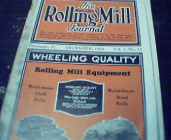 The Rolling Mill-12/29-Design of Ingot Molds