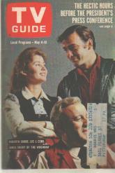TVGuide 5/4/63 Cobb Shore Drury The Virginian