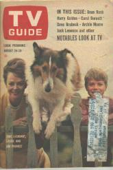 TV Guide 8/24/1963 Lassie June Lockhart Timmy