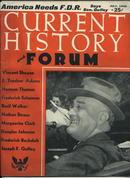 Current History Mag, F.D. Roosevelt, 7/40