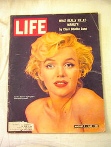 LIFE Aug 7,1964 Marilyn Monroe on Cover