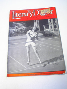 The Literary Digest,3/6/37,Medge Evans