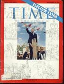 TIME 11/4/64 LBJ Pres. Johnson Election Extra