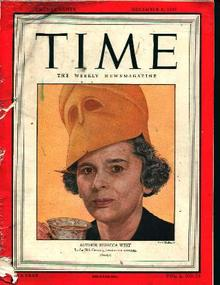 Time-12/8/47- Rebecca West on Cover!