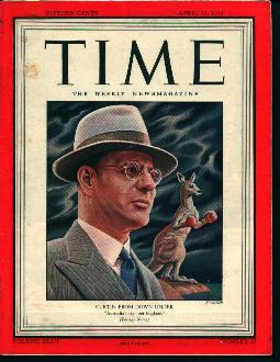 Time-4/24/44-Douglas MacArthur,Battlefronts