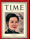 Time-3/1/43 Madmame Chang of China On Cover!