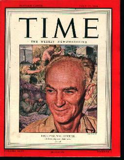 Time-7/17/44 Erne Pyle on Cover!
