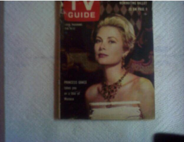 Grace Kelly,Flintstone's Pebbles,TVGuide'63
