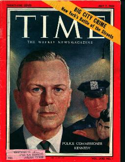 Time-7/7/58  Police Commisoner Kennedy Cvr!