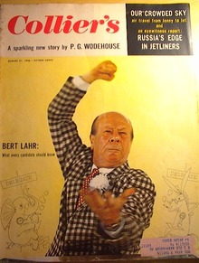 Collier's Weekly,8/31/56,Bert Lahr cover