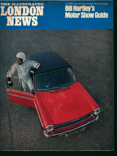 London News-10/18/69-Hartley Motorshow Guide