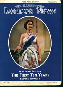 London News-10/12/63 Ten Years of Queen Liz