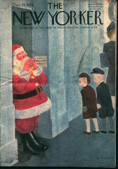 The New Yorker 12/14/46  Overseas Edition!